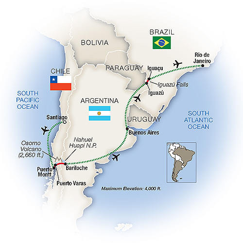 Tours to South America