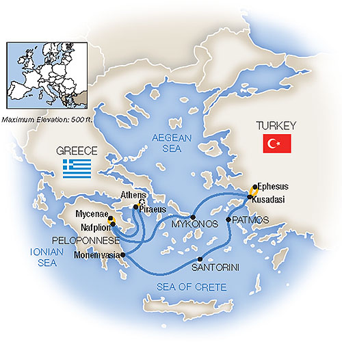 Greek Isles Cruises Aegean Cruises Tauck Cruises