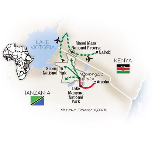 Tanzania Kenya Migration