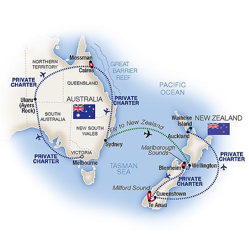 Tours to Australia