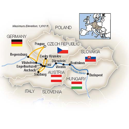 Blue Danube River Cruise