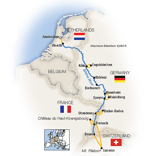 River Cruises from Amsterdam