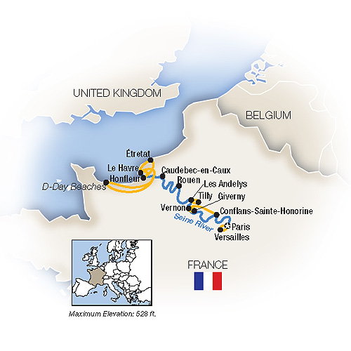 Normandy River Cruise
