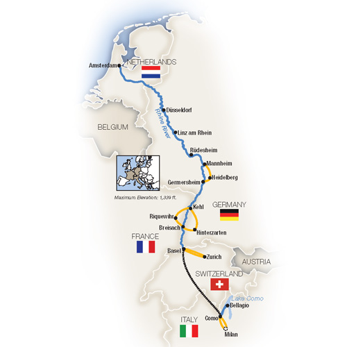 Italy River Cruise