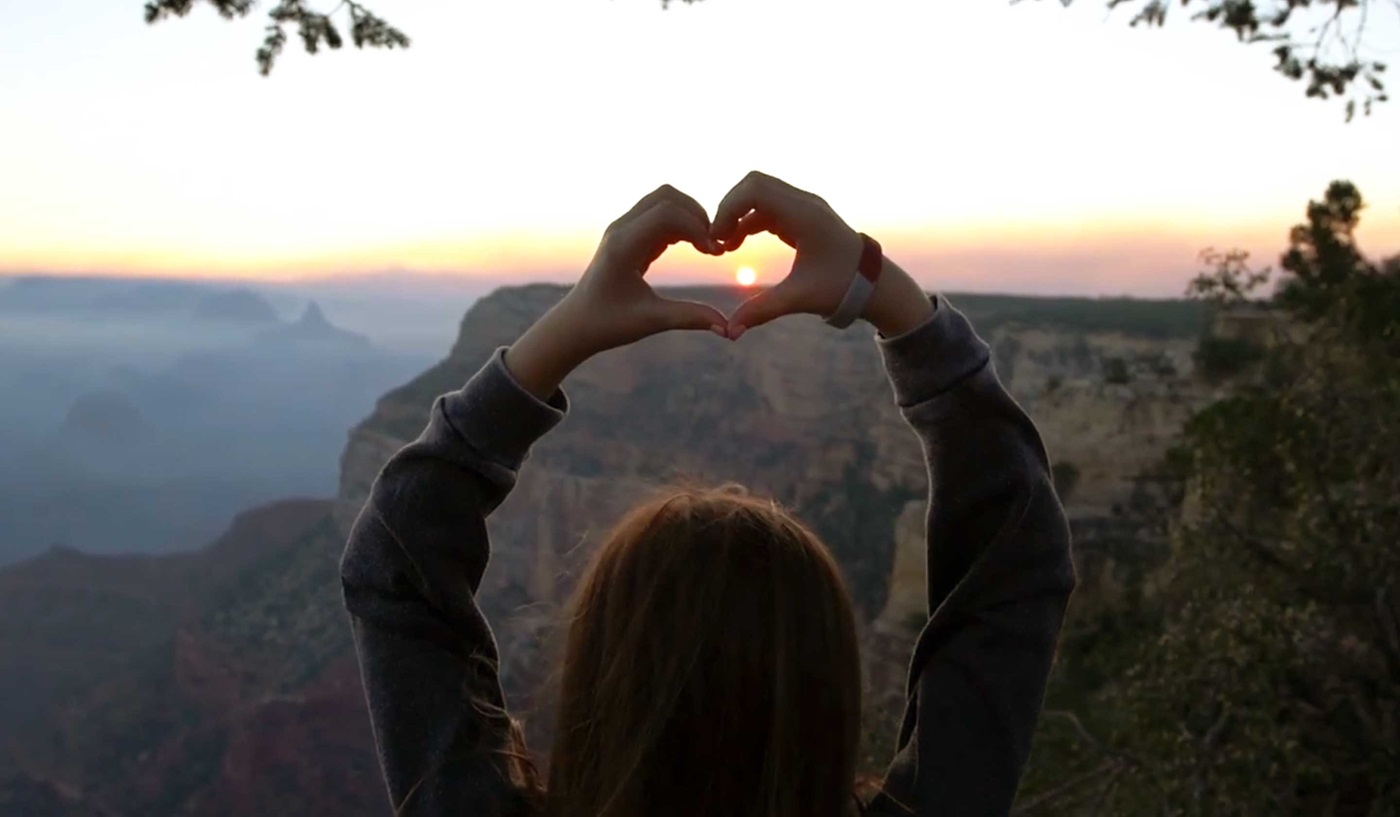 A child's first view of the Grand Canyon is a moment to treasure.