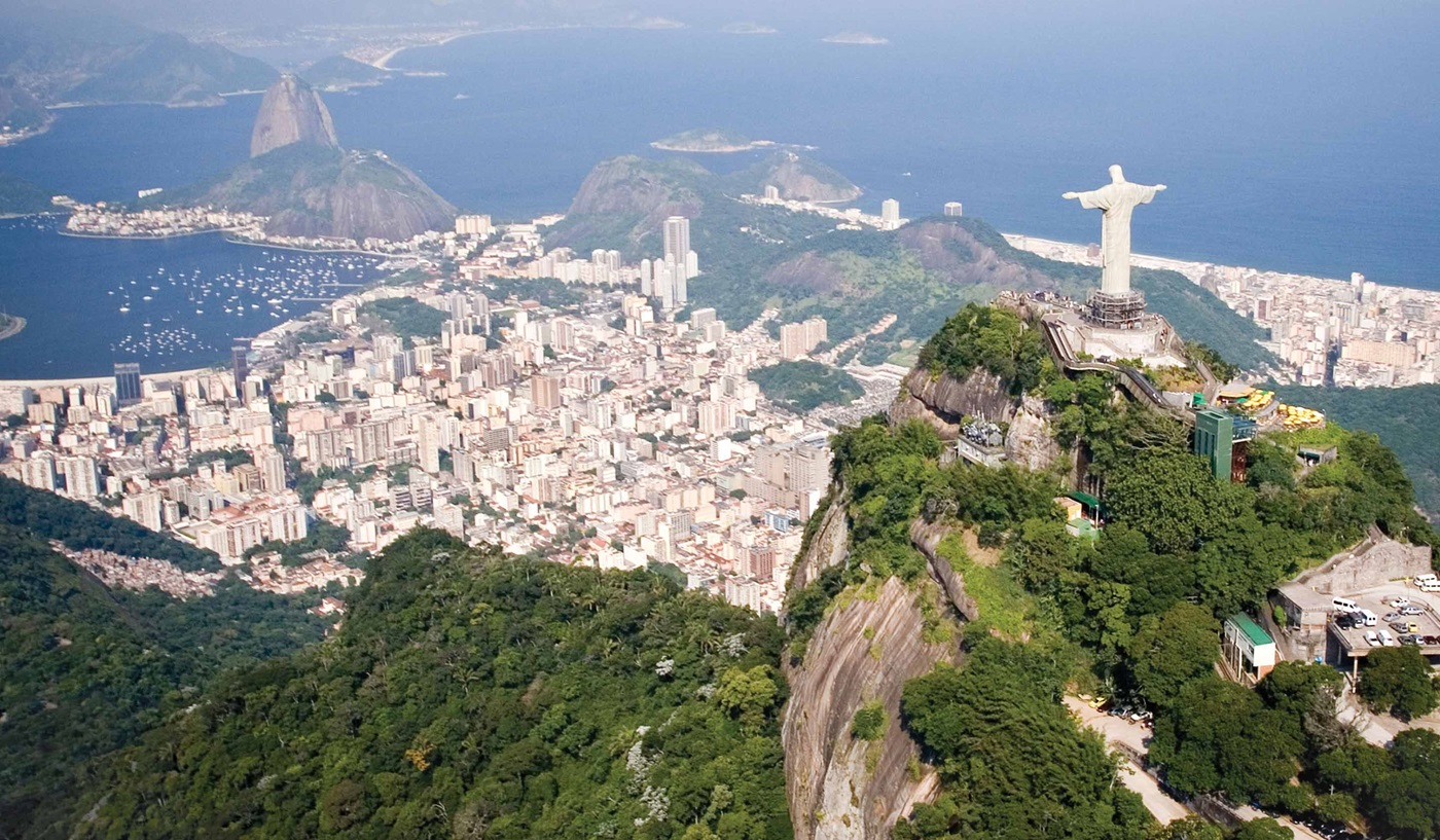 One of the most scenic and best views of Rio de Janeiro, Brazil