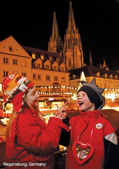 Regensburg, Germany Christmas Market