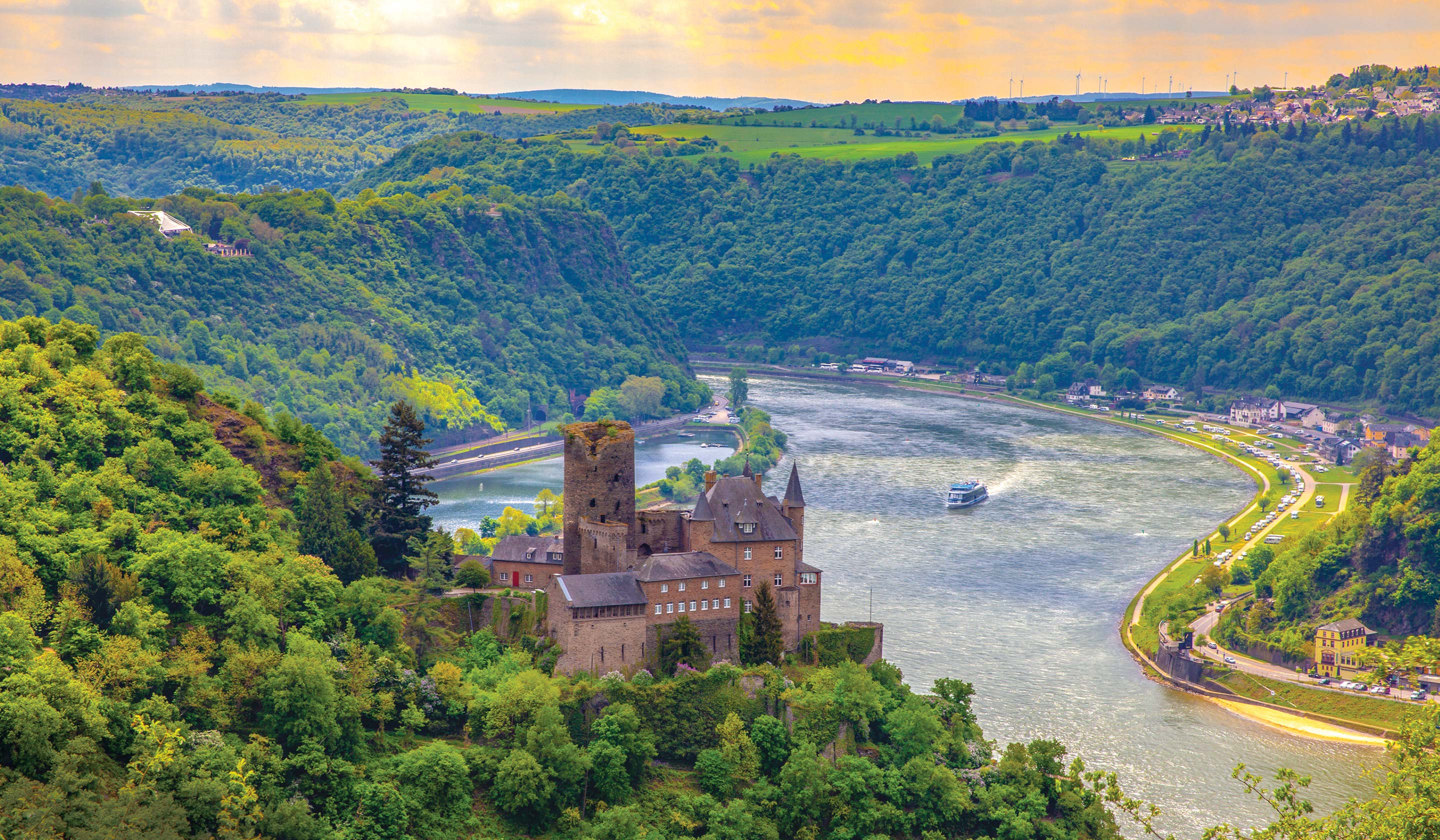 Rhine River Facts