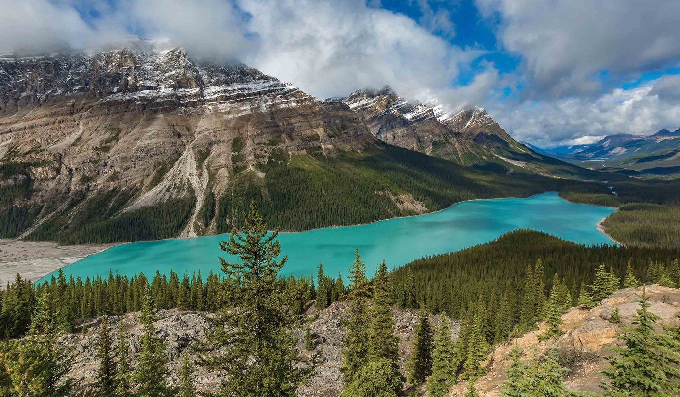 Canadian Rockies Glacier National Park Escorted Tour