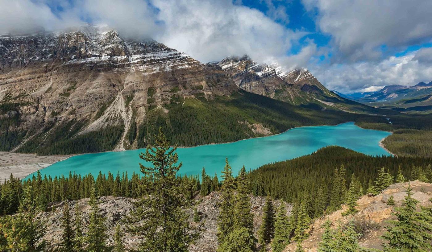 Canadian Rockies Glacier National Park Escorted Tour