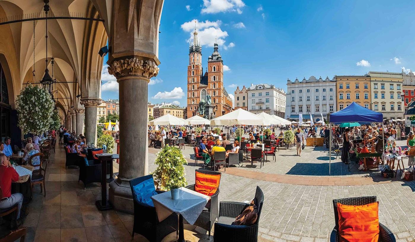 Warsaw Budapest Vienna Prague Poland Escorted Tour