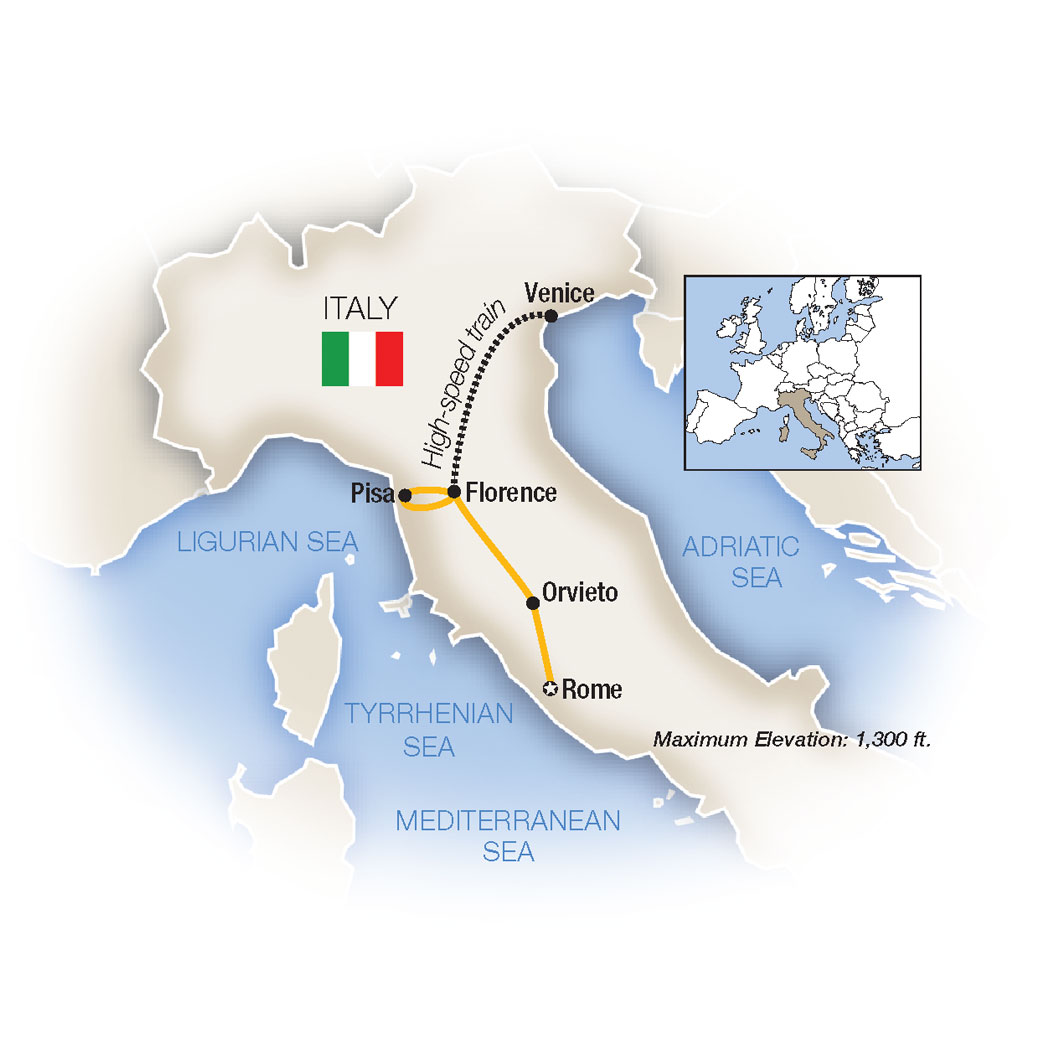 Italia Bella Venice Rome Italy Escorted Family Tour