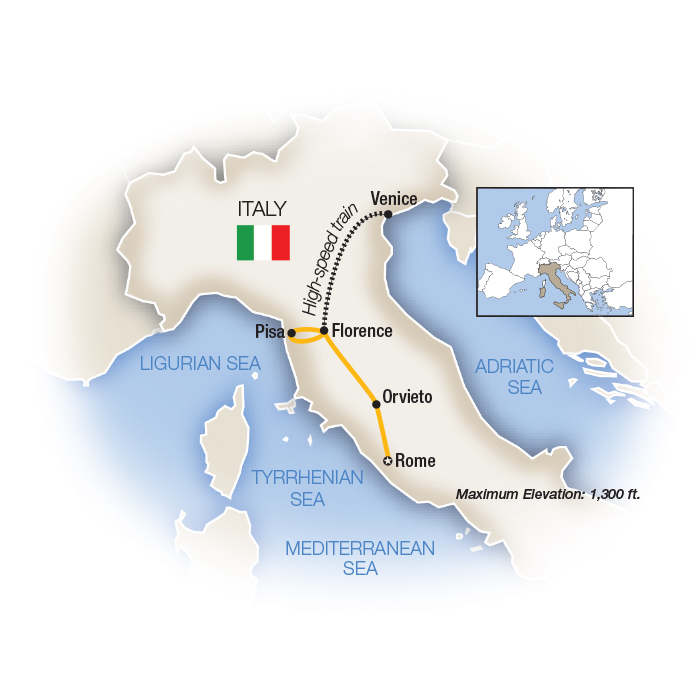Italia Bella Rome to Venice Family Guided Tour