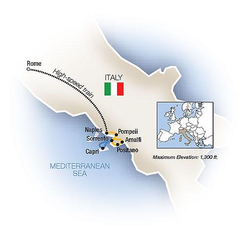 Sweet Life Rome Sorrento Italy Escorted Family Vacation