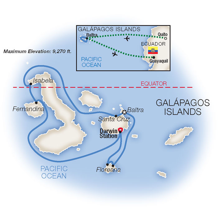 Galápagos Island Family Tour and Cruise