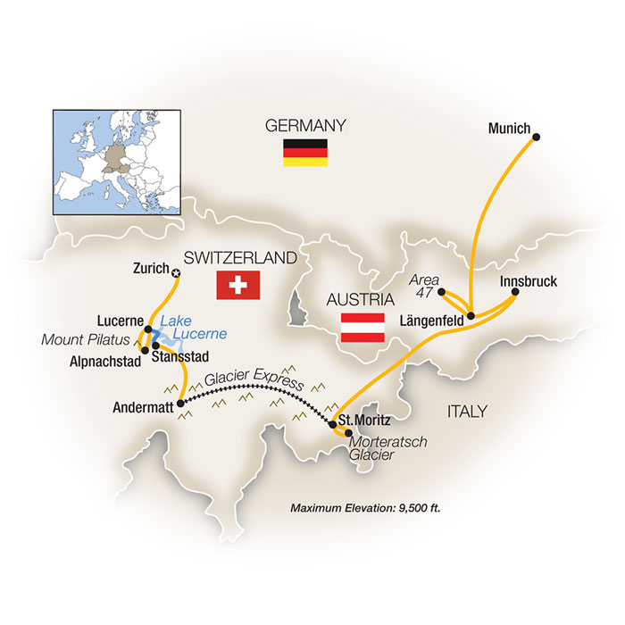 Switzerland Family Vacation