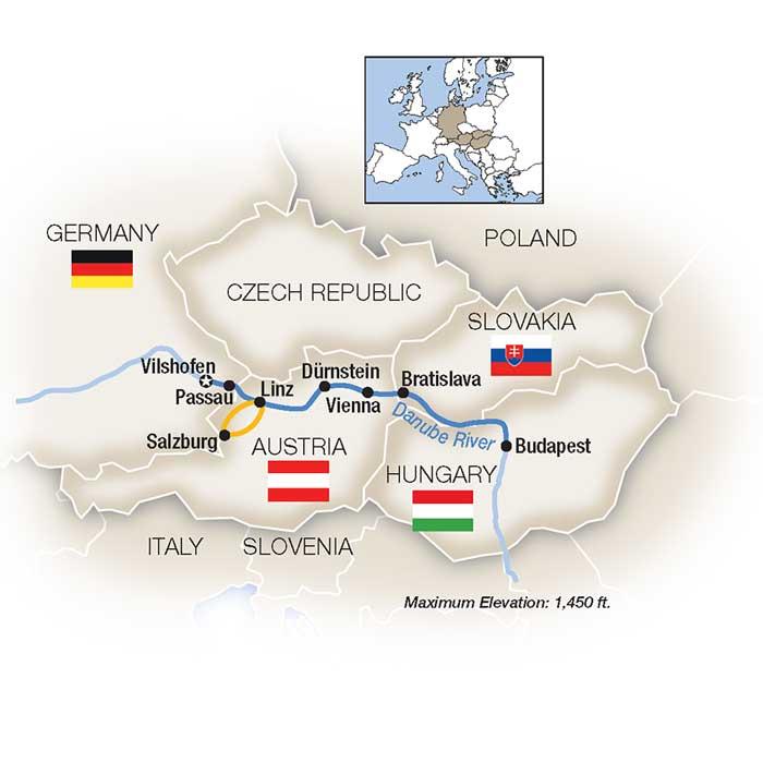 Family Danube River Cruise