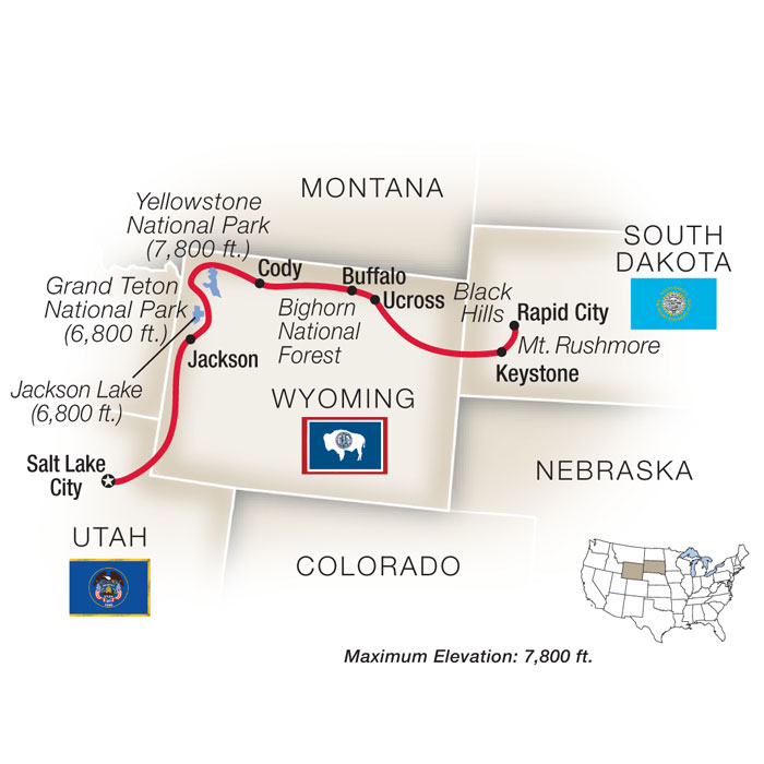 Wyoming Family Vacation Tour Packages to Cowboy Country