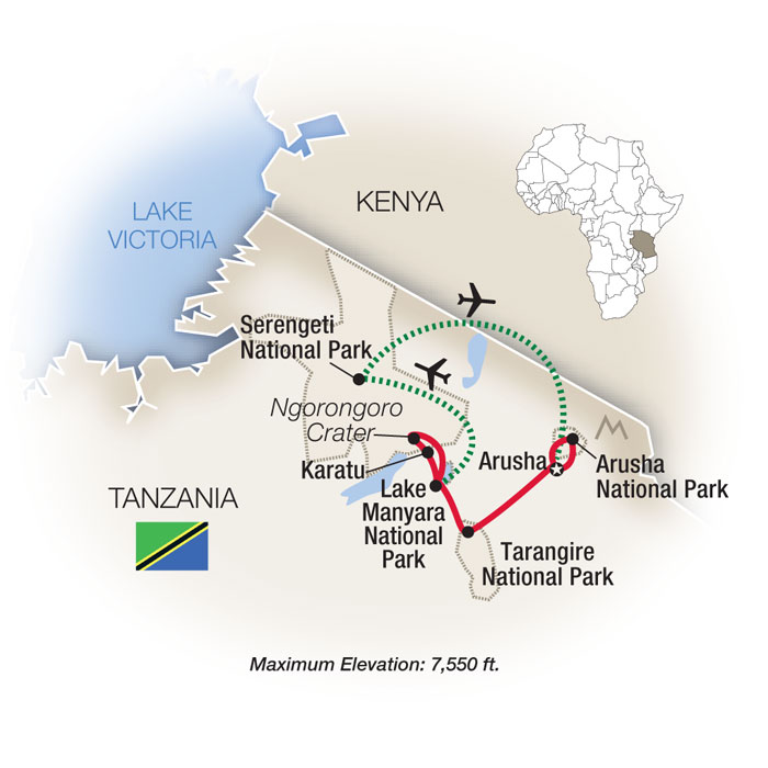 Tanzania Family Safari Tour Packages