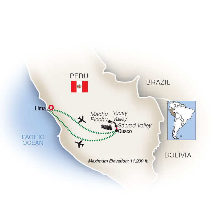 Peru and Machu Picchu Family Vacation