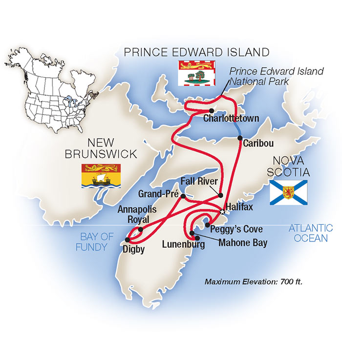 Nova Scotia Tours & Escorted Tours