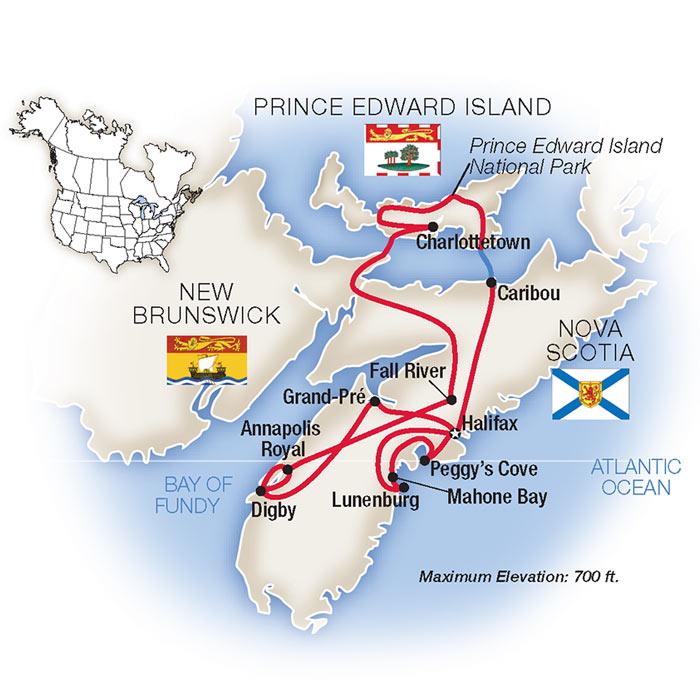 Nova Scotia Tours & Escorted Tours