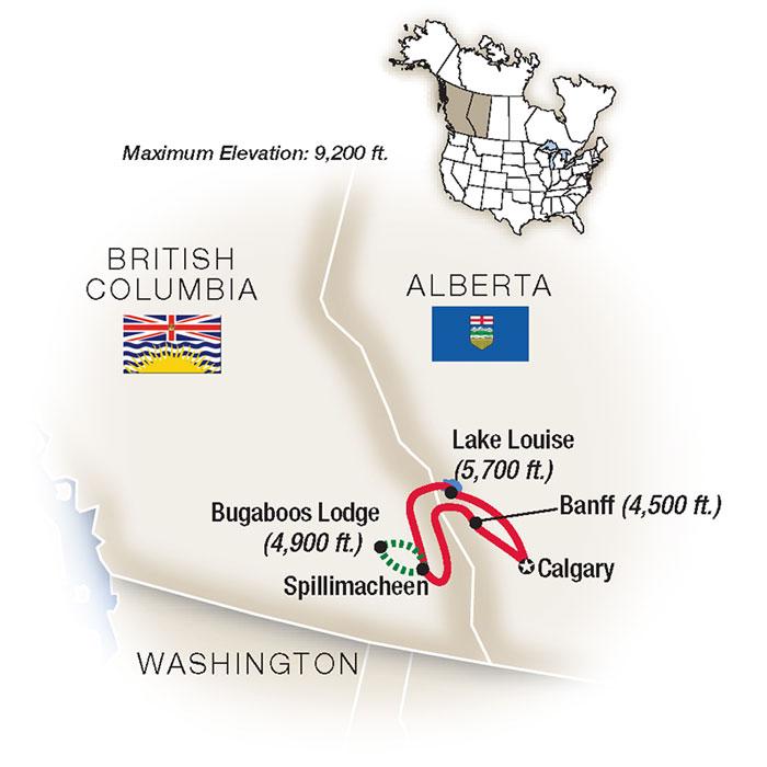 Canadian Rockies Hiking Tour