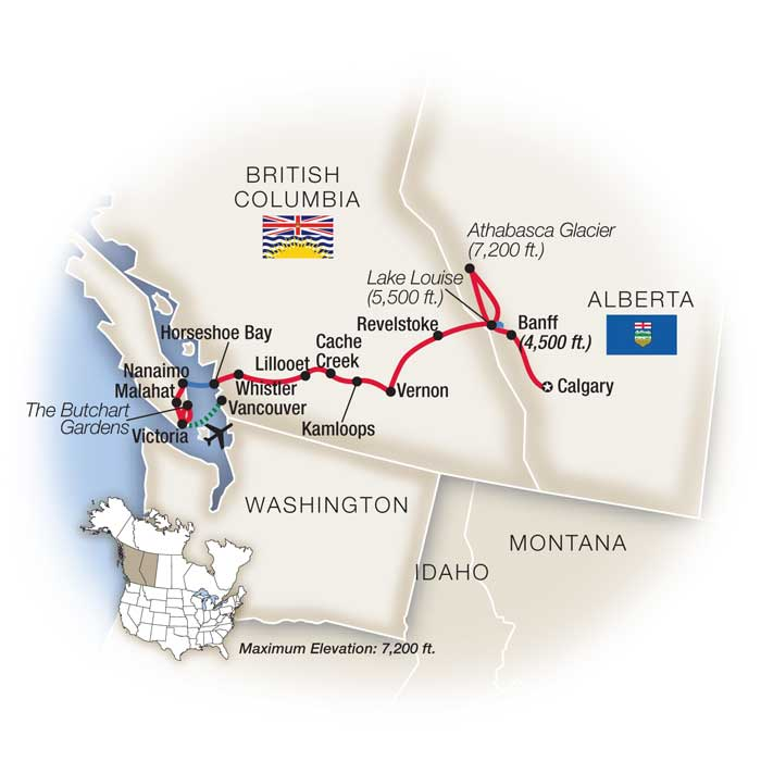British Columbia Tours & Guided Vacations
