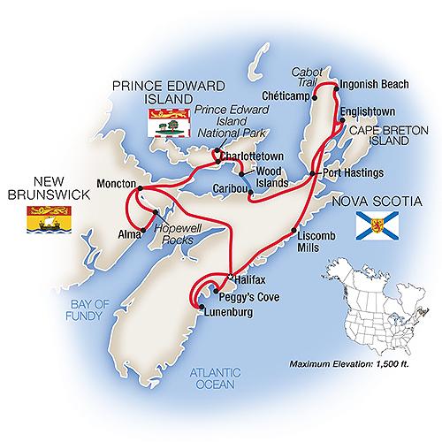 Nova Scotia Guided Tour