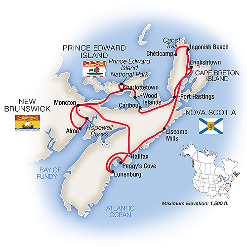 Nova Scotia Guided Tour