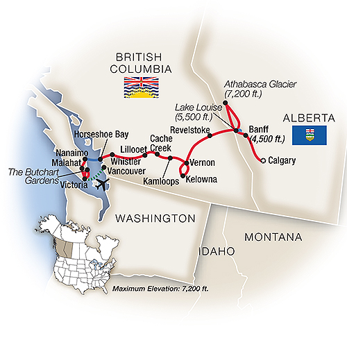British Columbia Tours