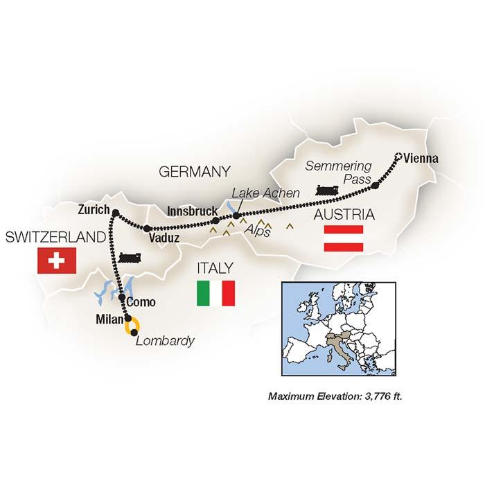 Austria Train Tour