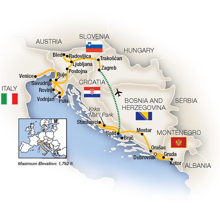 Croatia Tour