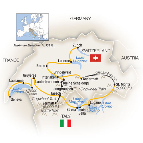 Switzerland Tour