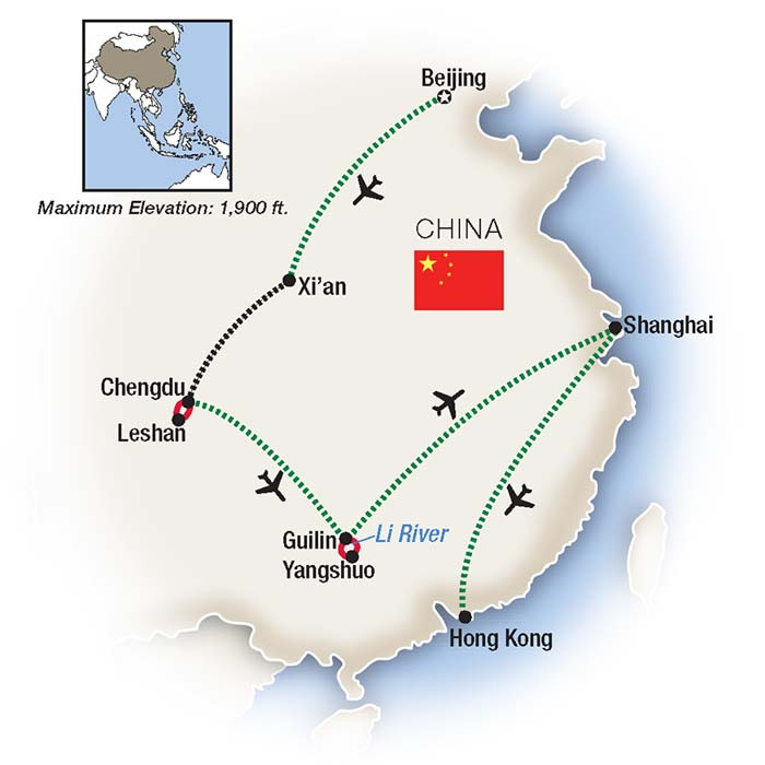 Guided Tours of China