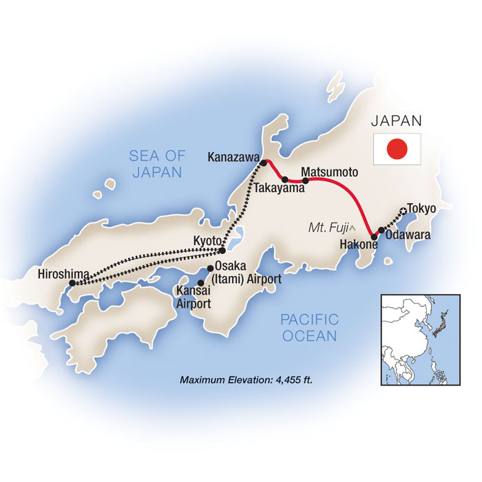 Escorted Tours Japan