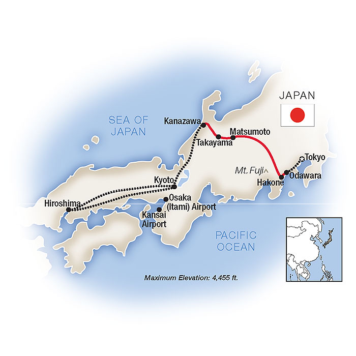 Escorted Tours of Japan & Guided Travel