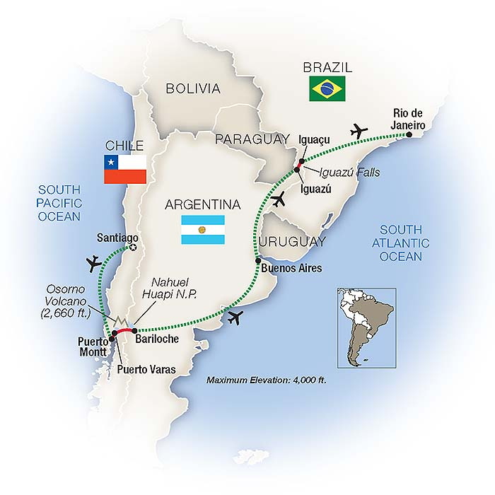 Brazil and Argentina Tours