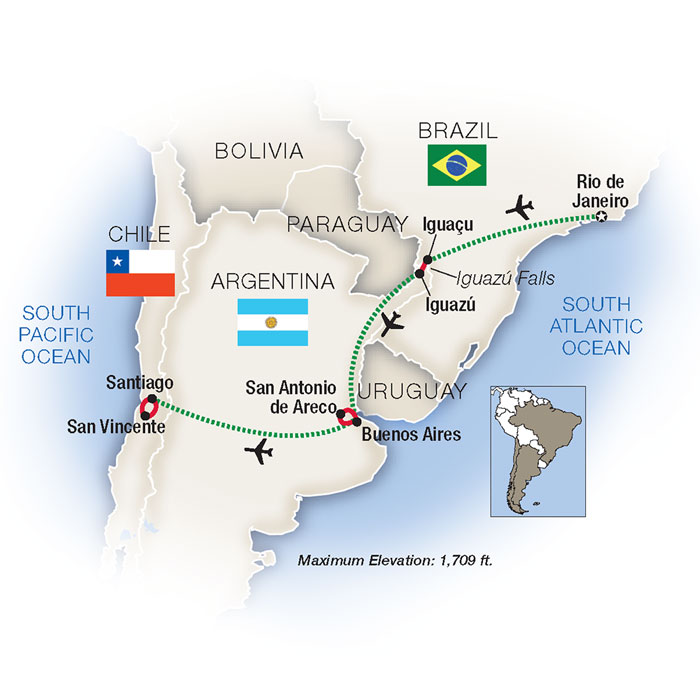 Brazil & Argentina Tours & Vacation Packages