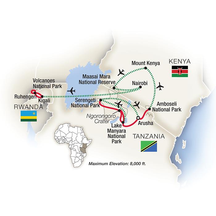 Mountain Gorilla Safari & Trekking Tours