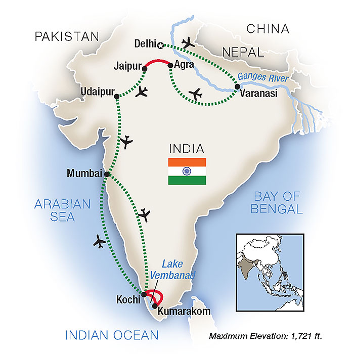 Escorted Tours of India & Guided Travel