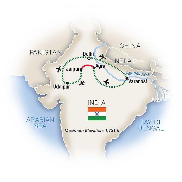 North India Tour & Escorted Tours | Tauck