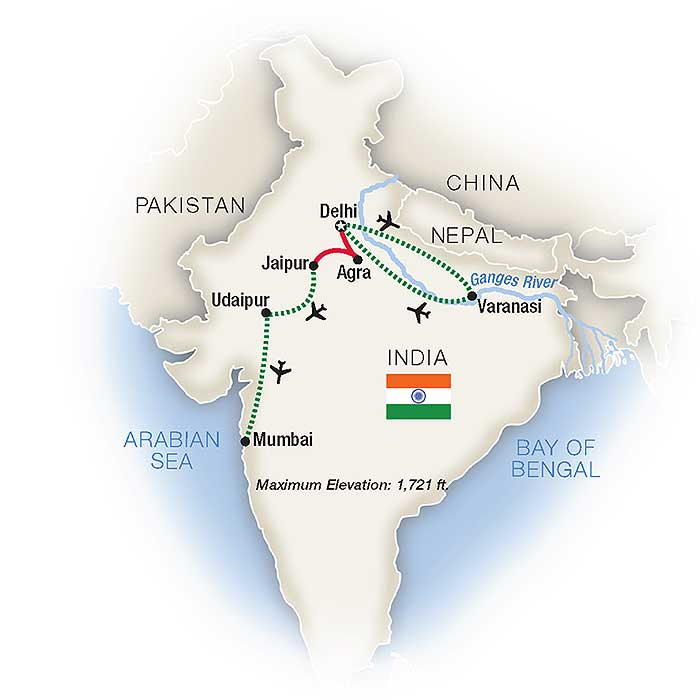 North India Tour & Escorted Tours