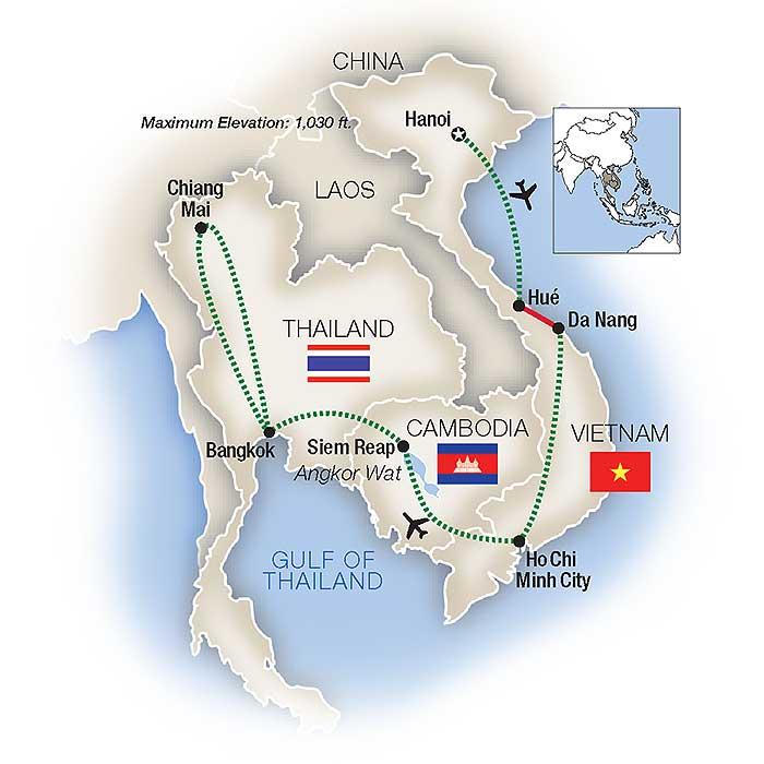 Vietnam Escorted Tours