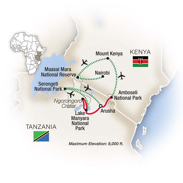 Kenya Safari Tours & Escorted Tours