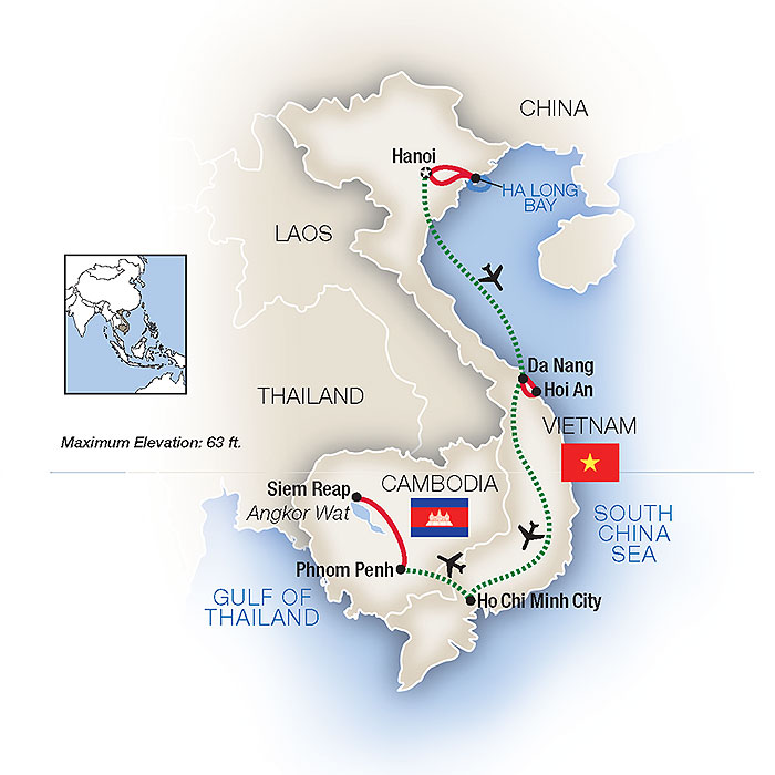 Vietnam Guided Tours & Guided Vacations