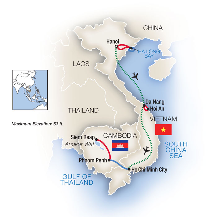 Heart of Southeast Asia: Vietnam, Cambodia and the Mekong