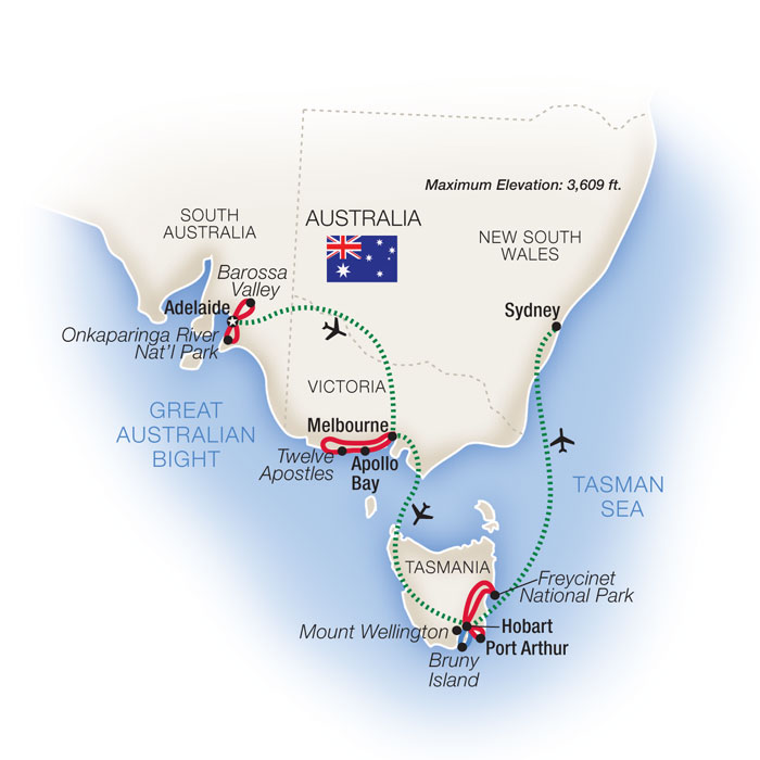 Australia Escorted Tours & Tour Packages