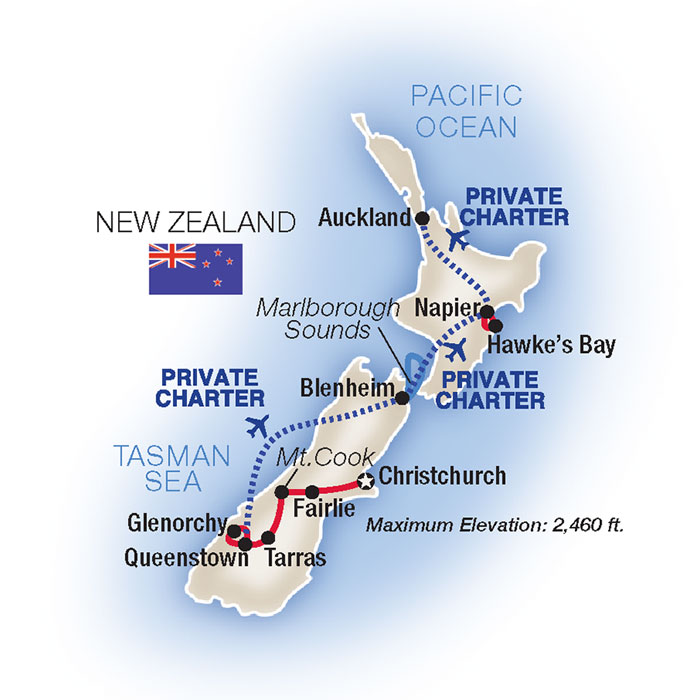 New Zealand Escorted Tours & Vacation Packages