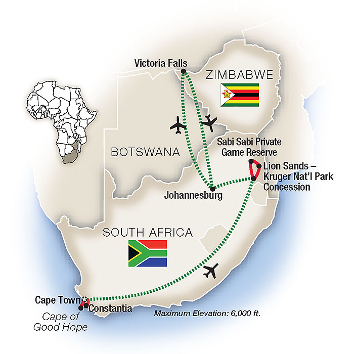 South Africa Tours & Guided Safari Packages